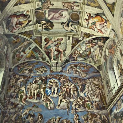 The Sistine Chapel, The Last Judgement