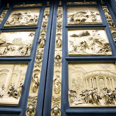 Gates of Paradise Florence Italy.