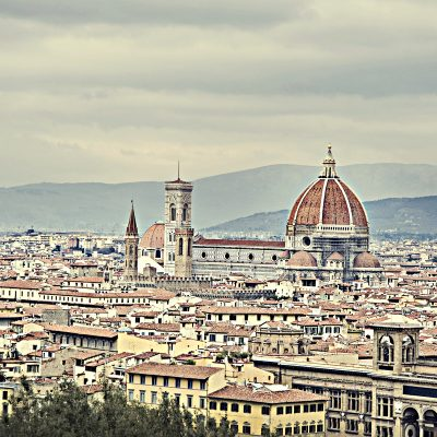 Florence Italy Skyline.