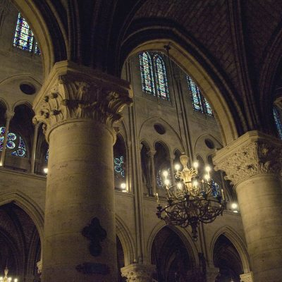 Notre Dame Cathedral Paris, France.