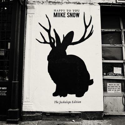 Miike Snow Poster NYC