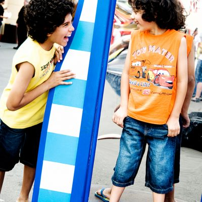 Luna Park Kids Portrait