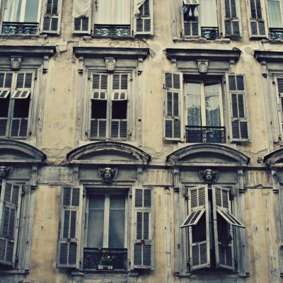 Old Windows Nice, France