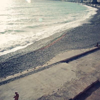 Nice Beach, France.